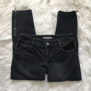 Alice + Olivia Crop Zippee Pants - Size 2